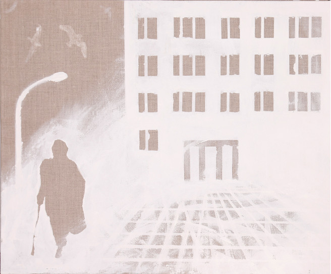 Others Paintings by Bartosz Milewski Titled Warszawa. Architecture / Cityscape, Portrait / People Paintings