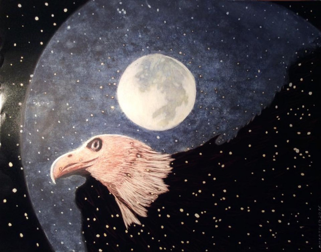Others Paintings by Martin Ashkhatoev Titled Condor. Animal / Birds, Fantasy, Others Paintings