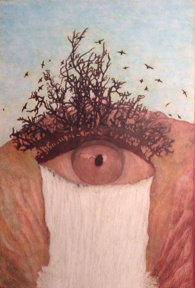 Others Paintings by Martin Ashkhatoev Titled I see everything . Abstract, Landscape, Nature, Others Paintings