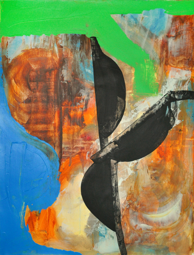 Oil Paintings by Mina Ham Titled Oppression. Abstract, Portrait / People, Others Paintings